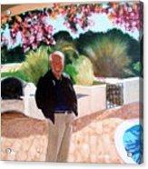 Jack In Portugal Acrylic Print