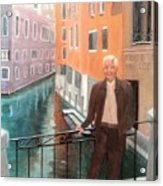Jack In Venice Acrylic Print