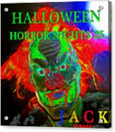 Jack Is Back Hhn 25 Poster Art B Acrylic Print
