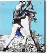 Jack Johnson Jim Jeffries Bout July 4th Reno Nevada 1910-2008 Acrylic Print