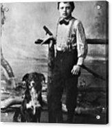 Jack London (1876-1916) Acrylic Print by Granger