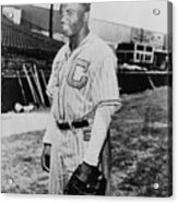 Jackie Robinson 1919-1972 In Kansas Acrylic Print by Everett