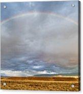 Jackson Hole Rainbow Acrylic Print