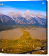Jackson Hole Wy Tetons National Park Views Acrylic Print