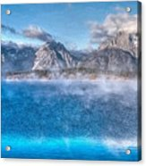 Jackson Lake - Teton National Park Acrylic Print