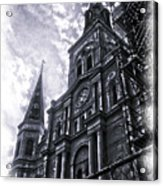 Jackson Square Cathedral Acrylic Print