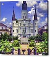 Jackson Square Acrylic Print