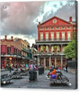 Jackson Square Evening Acrylic Print