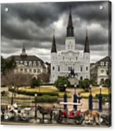 Jackson Square New Orleans Acrylic Print
