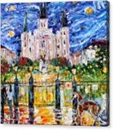 Jackson Square New Orleans Acrylic Print