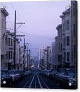 Jackson Street San Francisco Acrylic Print