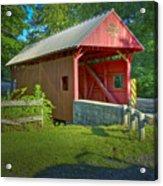 Jackson's Mill Covered Bridge Acrylic Print