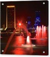 Jacksonville Skyline Acrylic Print