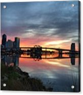 Jacksonville Sunrise Acrylic Print