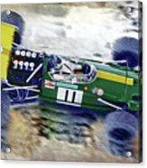 Jacky Ickx - Brabham Bt26 Acrylic Print