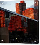 Jacob Javits Reflections Acrylic Print