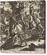 Jacob Kills Absalom, Son Of King David Acrylic Print