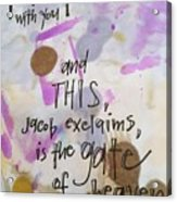 Jacob's Proclamation Acrylic Print