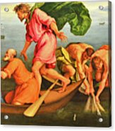 Jacopo Bassano Fishes Miracle Acrylic Print