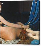 J.a.d. Ingres: Odalisque Acrylic Print by Granger