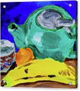 Jade Teapot  Acrylic Print