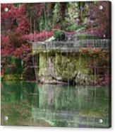 Jade Waters Acrylic Print