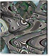Jade Worlds Acrylic Print