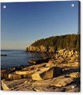 Jagged Coast Of Maine Acrylic Print