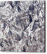 Jagged Glacier Acrylic Print