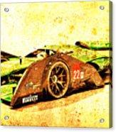 Jaguar Le Mans 2015, Race Car, Fast Car, Gift For Men Acrylic Print