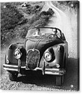 Jaguar Xk 150 Drophead Coupe Acrylic Print