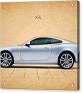 Jaguar Xk Acrylic Print by Mark Rogan