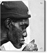 Jah, Rastafari Acrylic Print