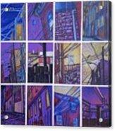 Jail Alley, Fredericksburg, Va Acrylic Print