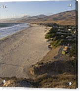 Jalama Campground And Beach. Pacific Acrylic Print by Rich Reid