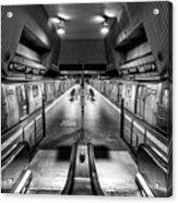 Jamaica Center Subway Station, Queens New York Acrylic Print