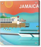 Jamaica Horizontal Scene Acrylic Print