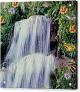 Jamaican Waterfalls  Acrylic Print