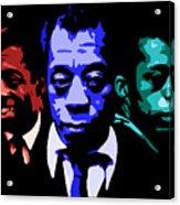 James Baldwin Acrylic Print