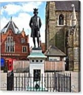 James Boswell Statue - Lichfield Acrylic Print