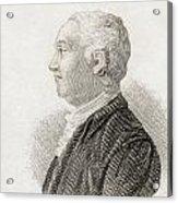 James Bruce, 1730 To 1794. Scottish Acrylic Print