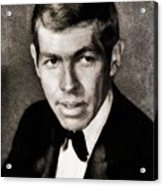 James Coburn, Vintage Actor Acrylic Print