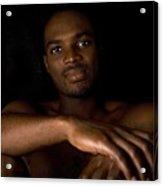 James Dark Portrait Acrylic Print