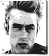 James Dean - Bw Acrylic Print