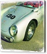 James Dean Porsche Spyder 550 Acrylic Print