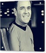 James Doohan, Scotty Acrylic Print