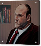 James Gandolfini Painting Acrylic Print