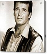 James Garner By Mb Acrylic Print