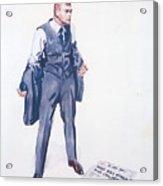 James Montgomery Flagg, 1918 Acrylic Print