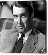 James Stewart, C. 1940s Acrylic Print by Everett
